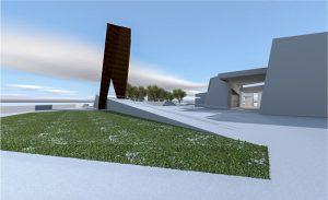 אנדרטה ומבנה , יד נצחון דויד בעמק האלה - Goliath and Monument for David's Victory