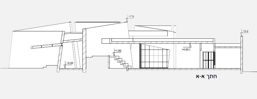 חתך במבנה