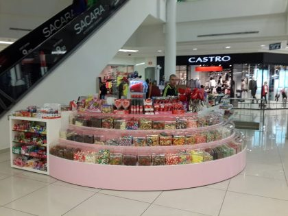Candy selling stand